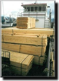 Big load of lumber